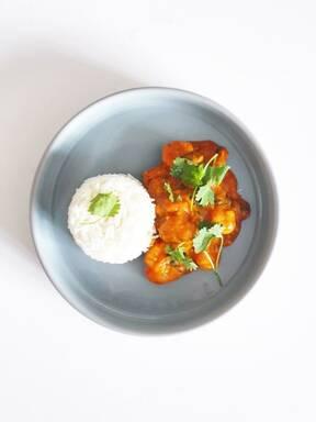 Creamy Prawn & Coconut Curry
