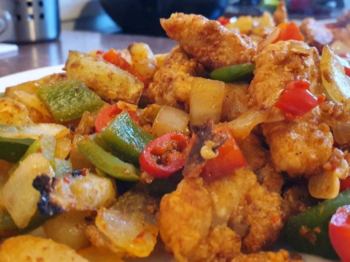 Salt & Chilli Chicken & Chips