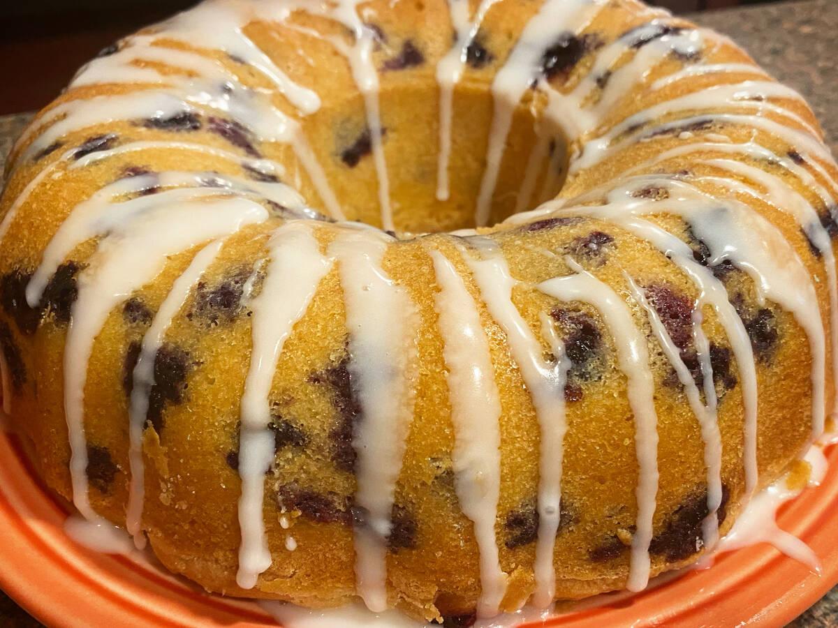 Lemon Blueberry Poundcake