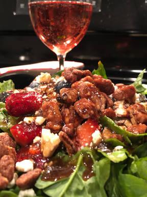 Easy Sweet & Tart Strawberry Salad