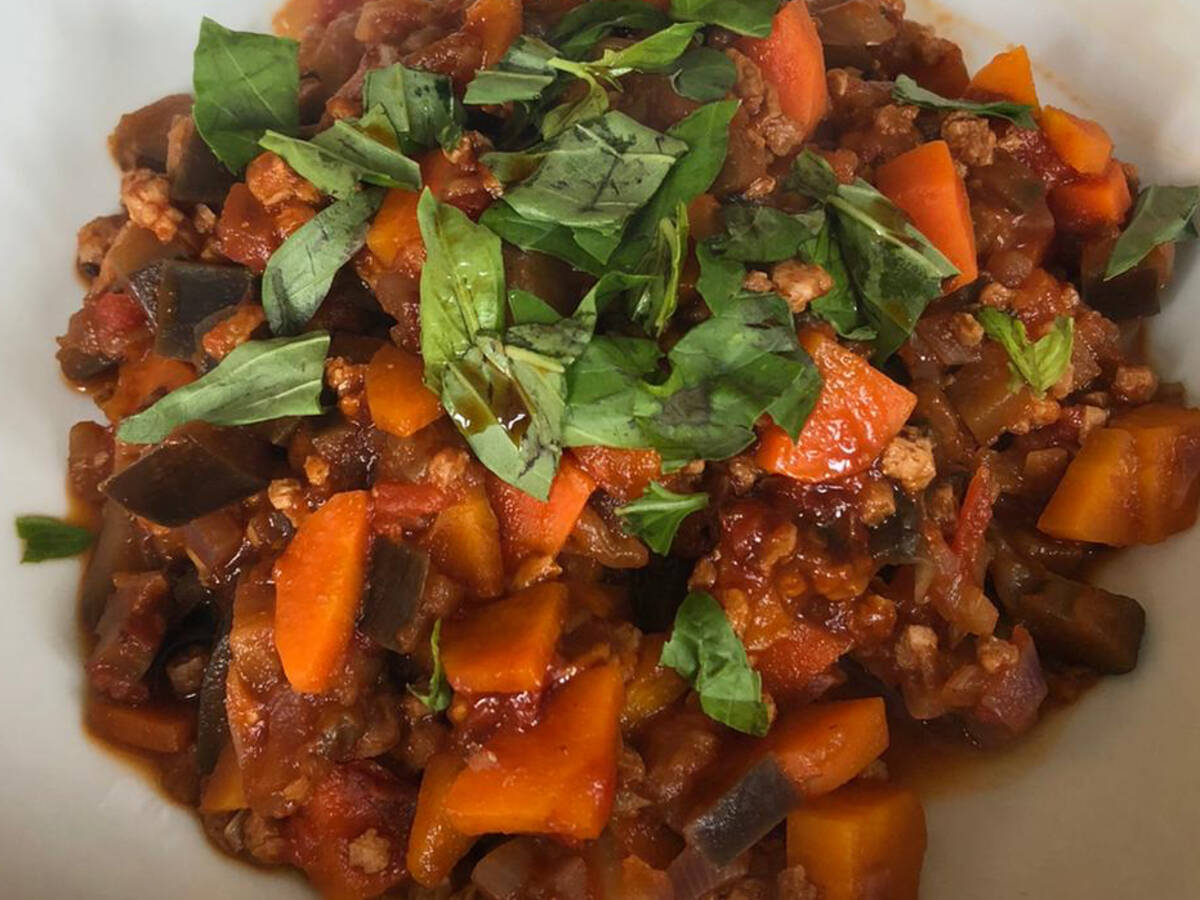 Vegetable Soy Stew