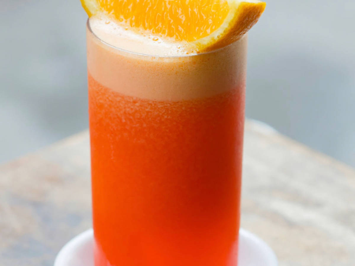 Der Perfekte Brunch Drink <Campari Garibaldi>