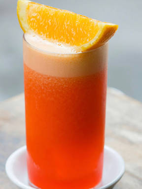 Der Perfekte Brunch Drink <Campari Garibaldi>