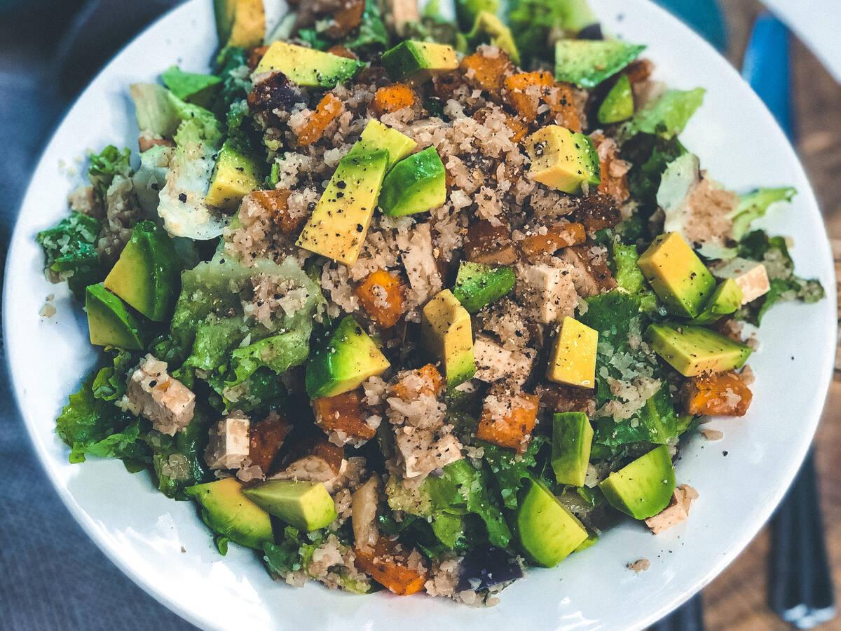 Fake Couscous Salad