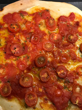 Italian Rustic Starter Pizzas