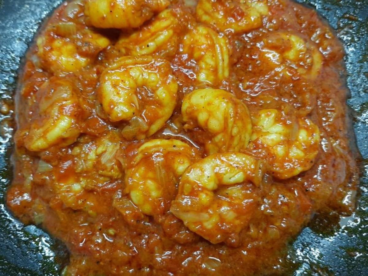 Prawns Curry (wet)