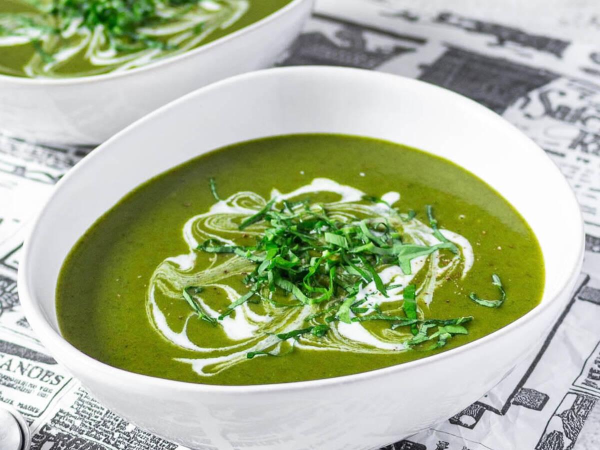Creamy Wild Garlic Potato Soup