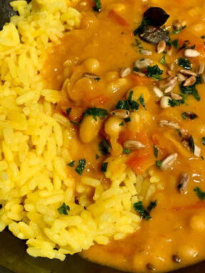Baked beans curry