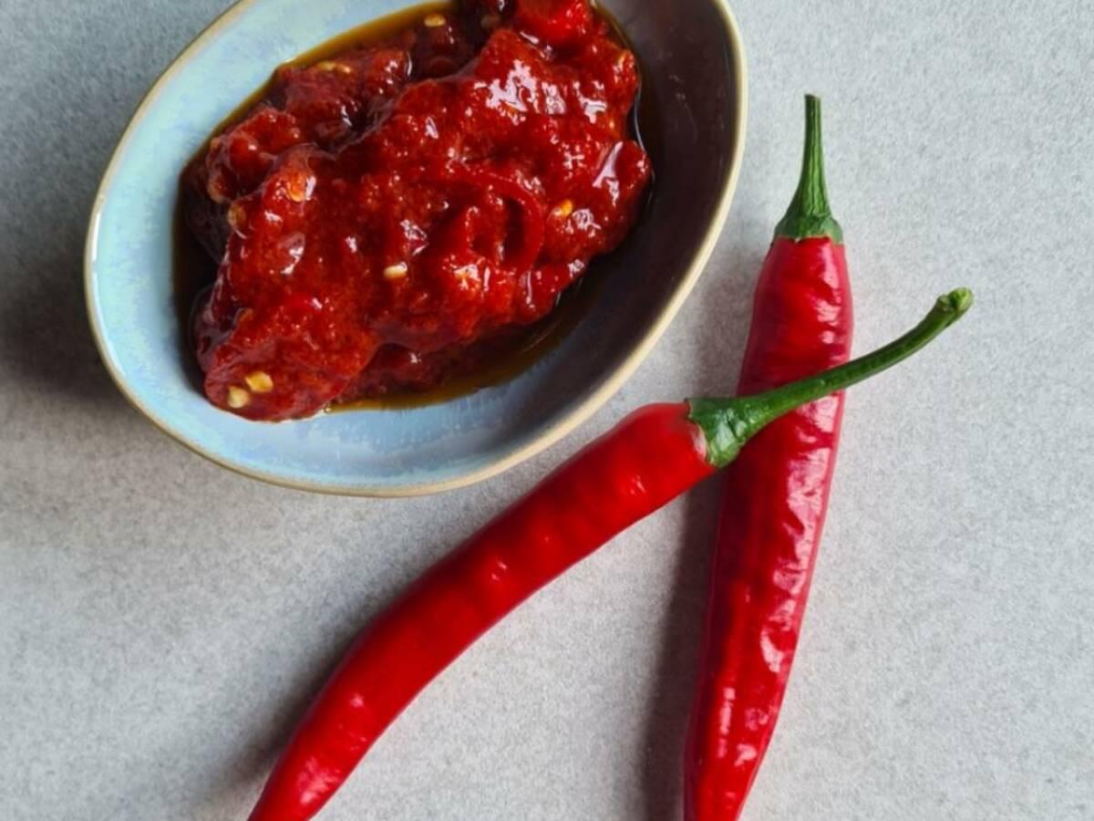 Frische Chilipaste (Chili-Dip)