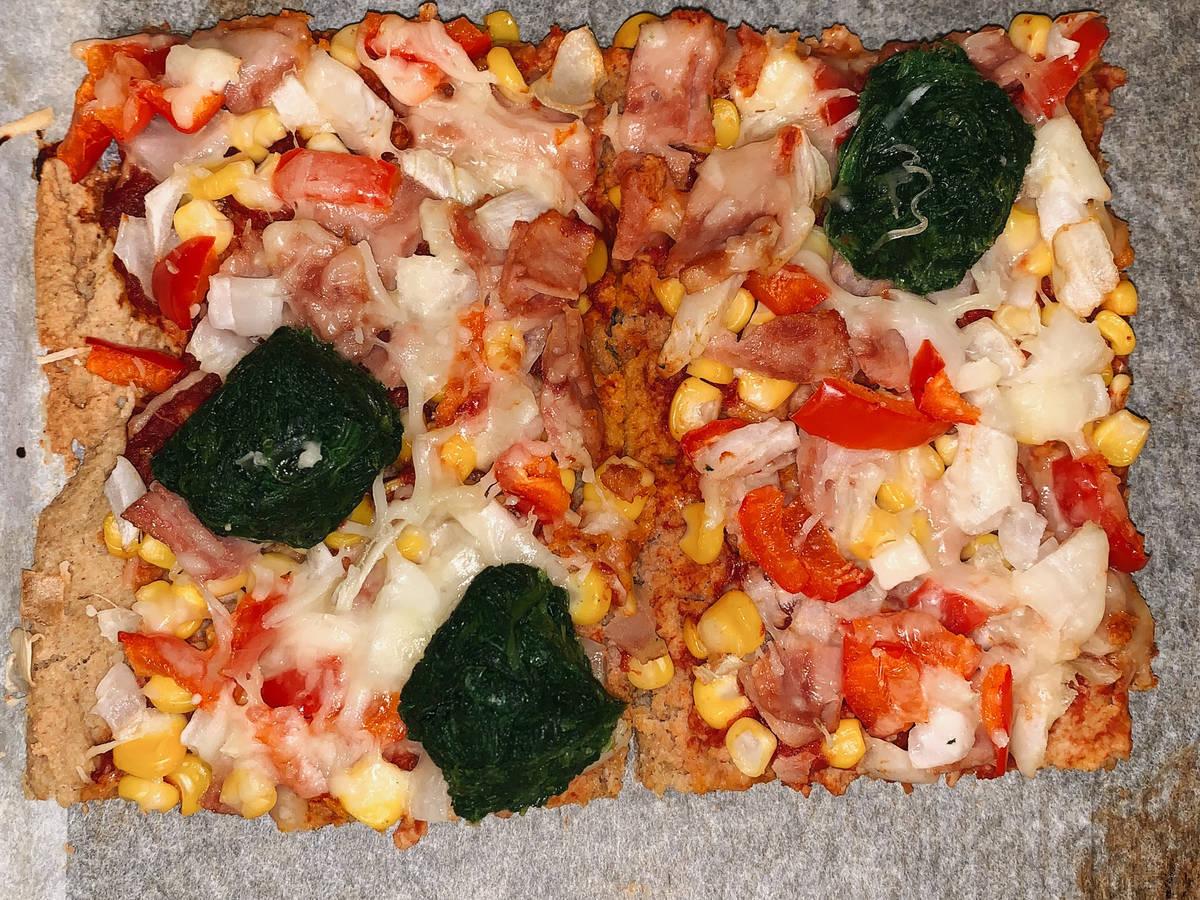 Protein pizza
