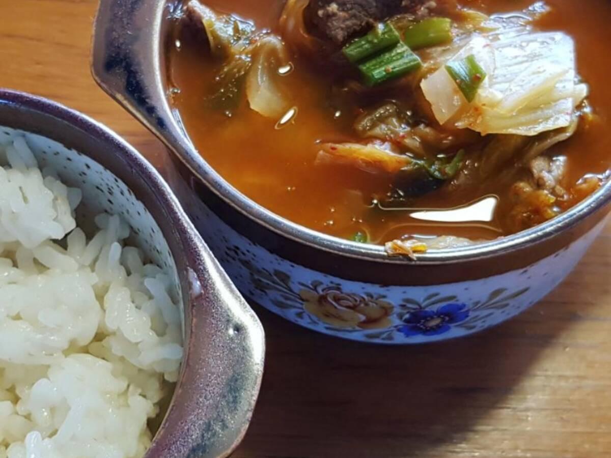 Kimchi Jjiagae