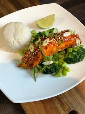 Miso Chilli Salmon