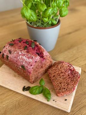 Saftiges Rote-Bete-Brot