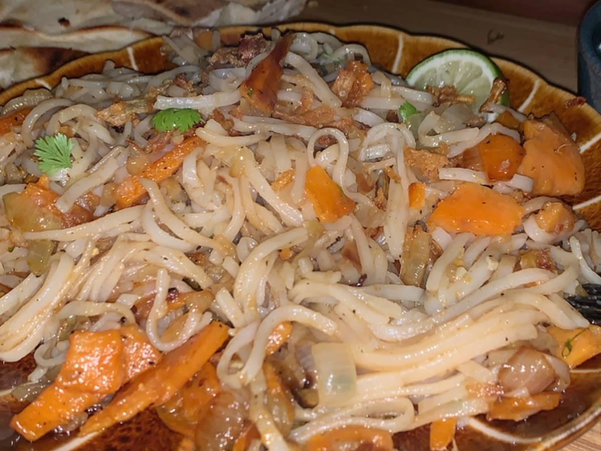 Quick rice noodles