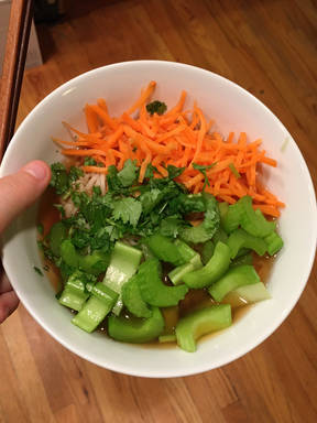 Fancy Pantry Vegetarian Ramen