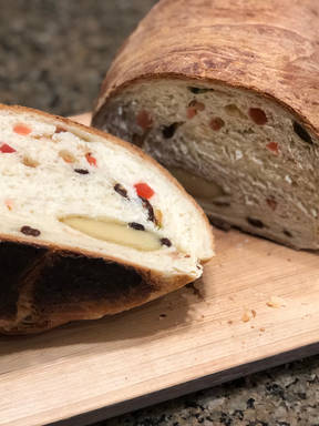 Stollen Christmas Bread