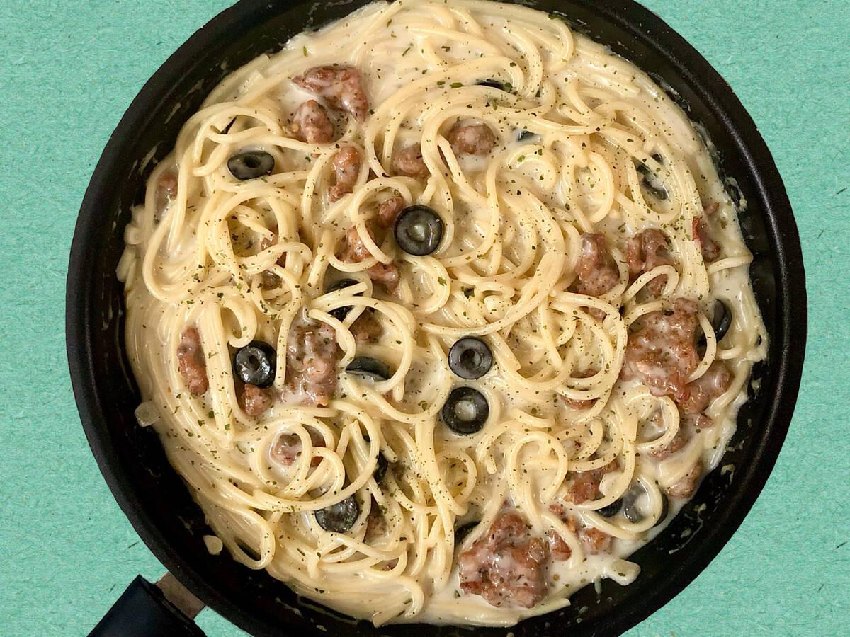 Creamy Spaghetti Pasta