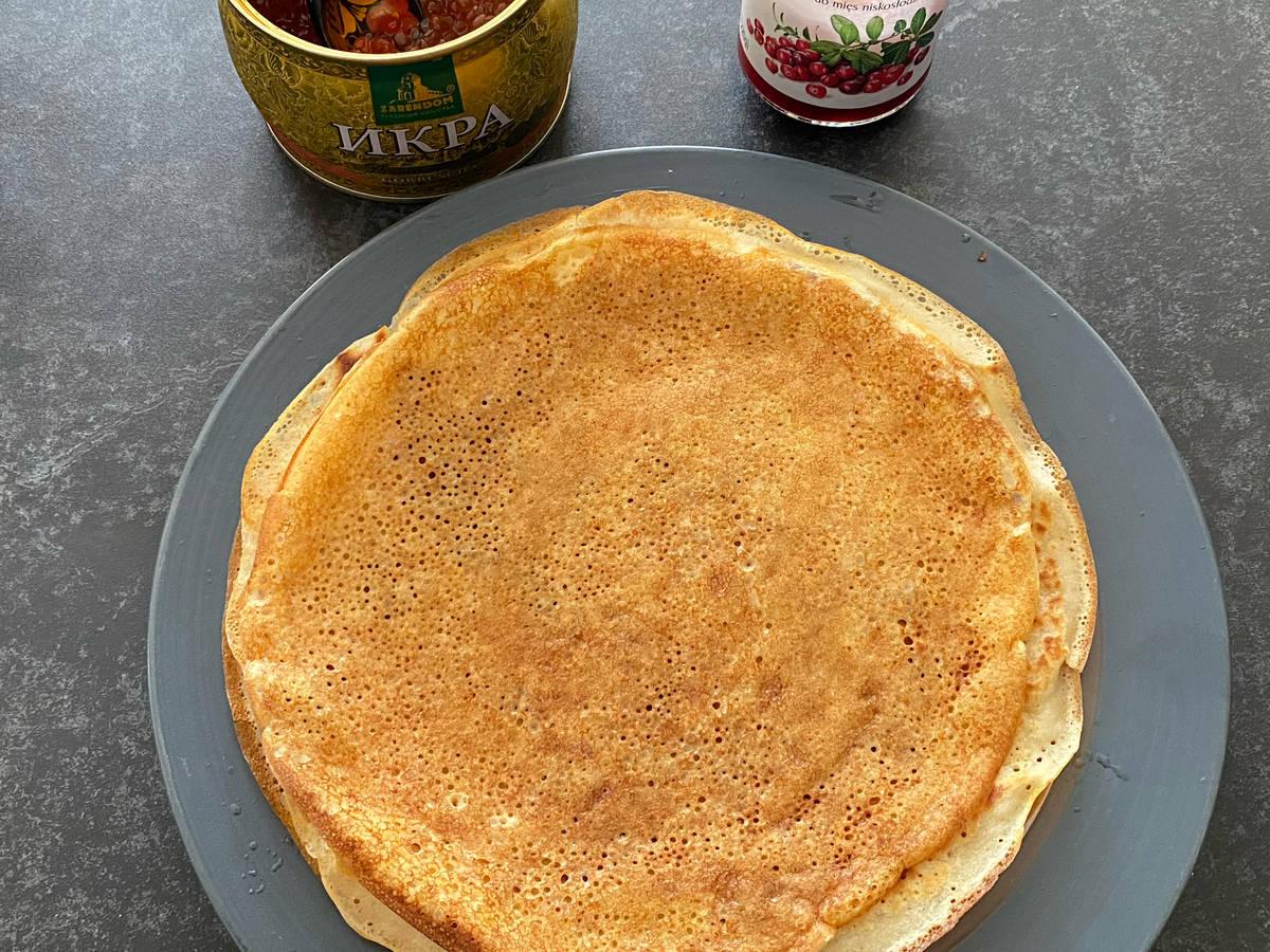Russian Kefir (buttermilk) Pancakes