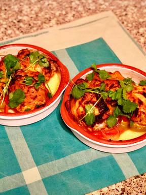 Easy Tandoori Chicken in Oven