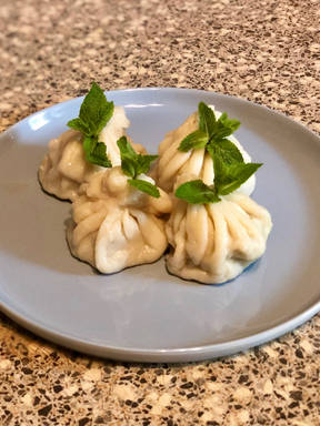 Georgian Meat-Filled Dumplings