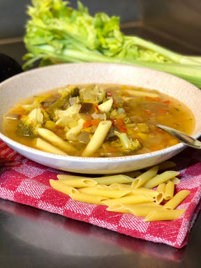 Vegetable and Penne Soup