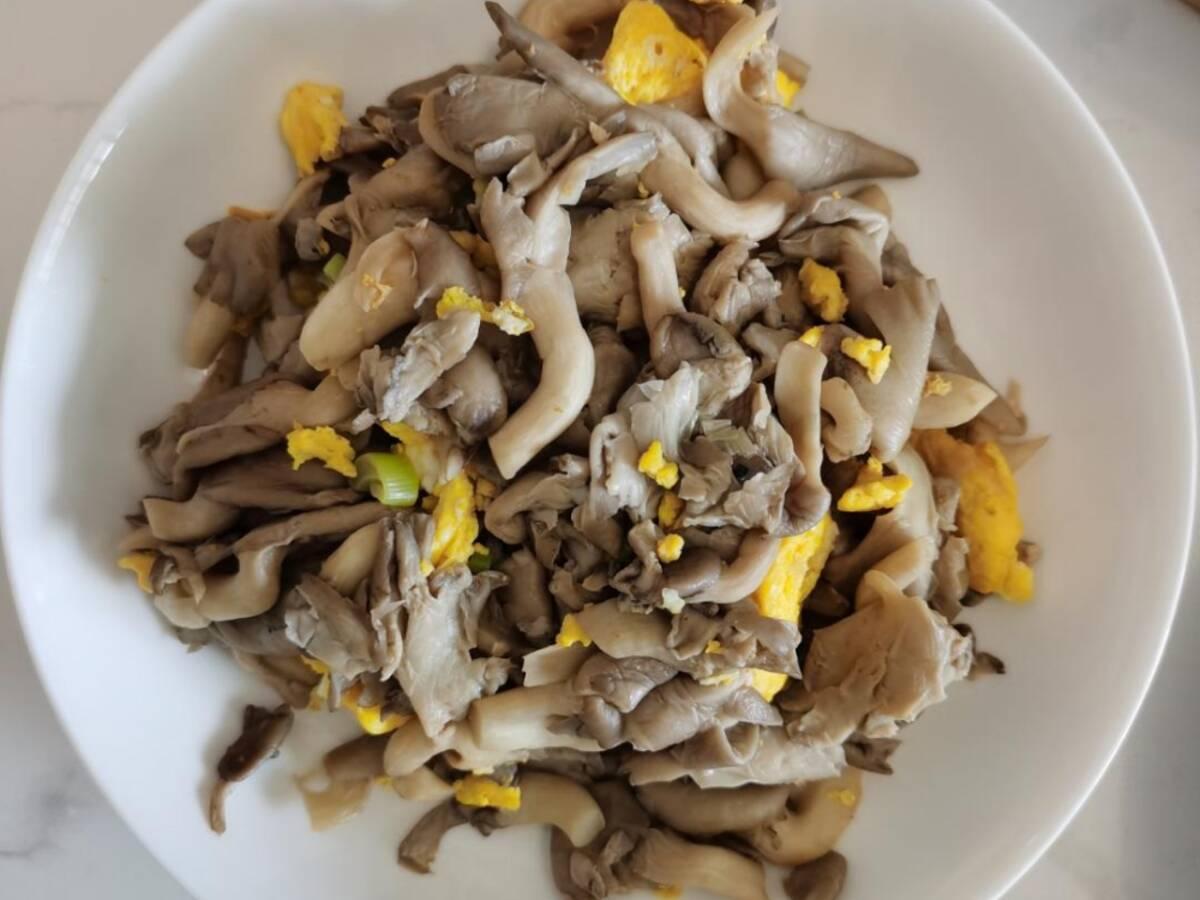 The Mushroom Scrambled Eggs