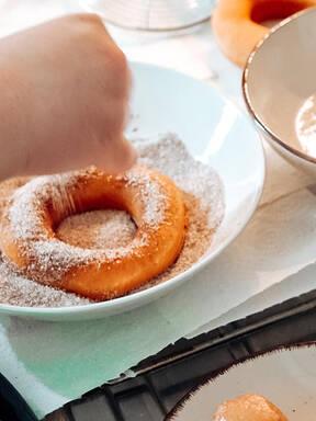 Zimt & Zucker Donuts