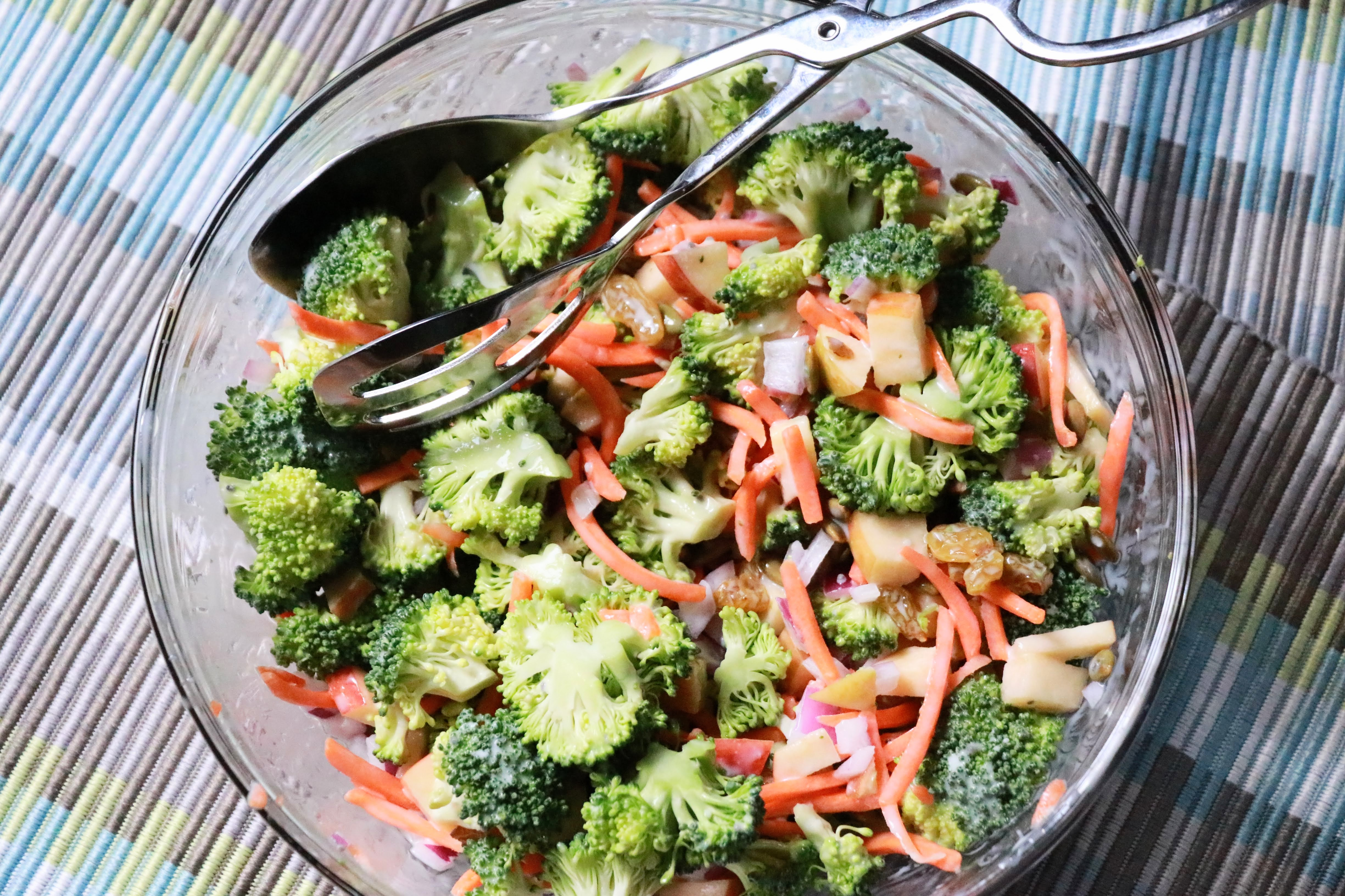 Loaded Broccoli Apple Salad