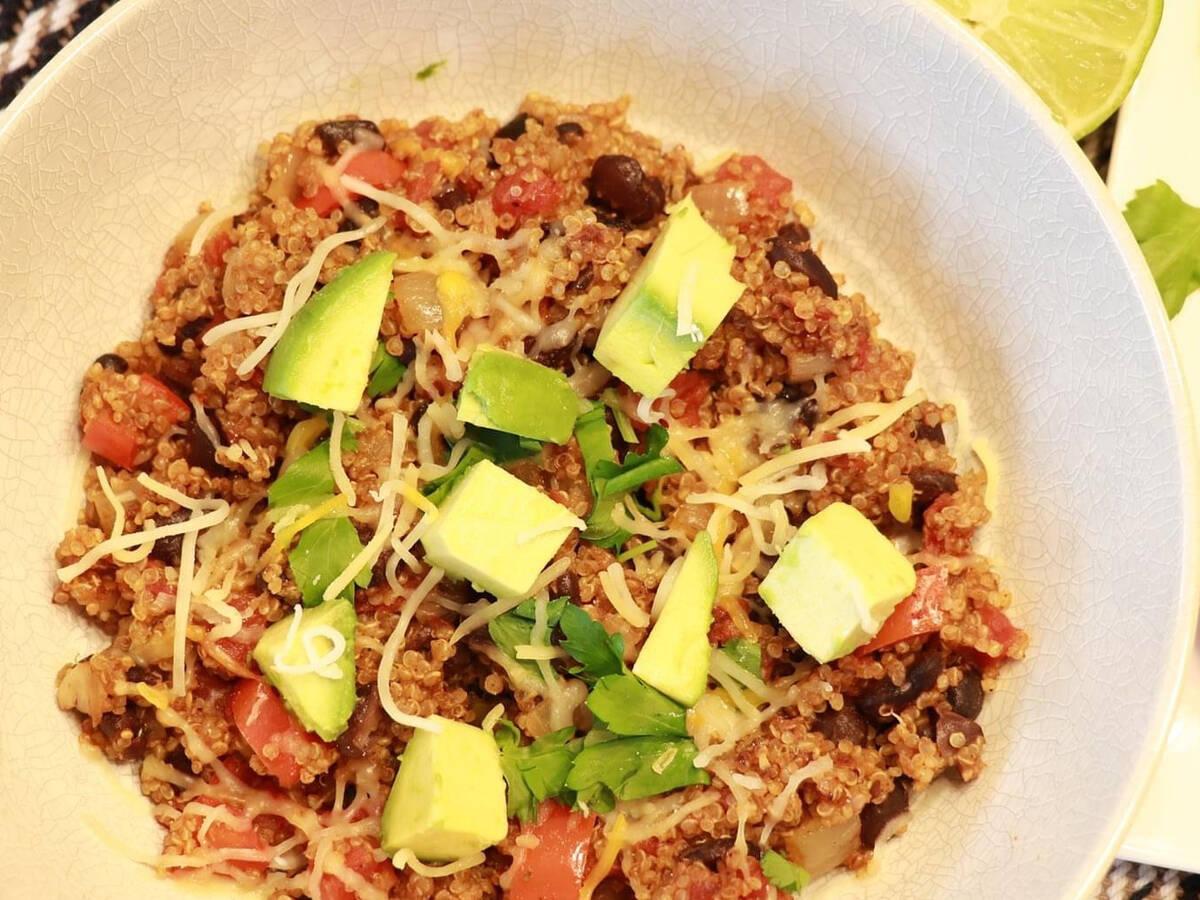 Skillet Mexican Quinoa