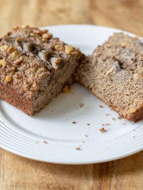 Walnut Flax Banana Bread