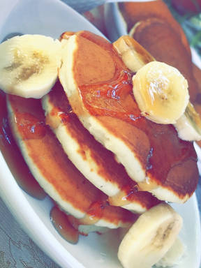 Best fluffy vegan pancakes