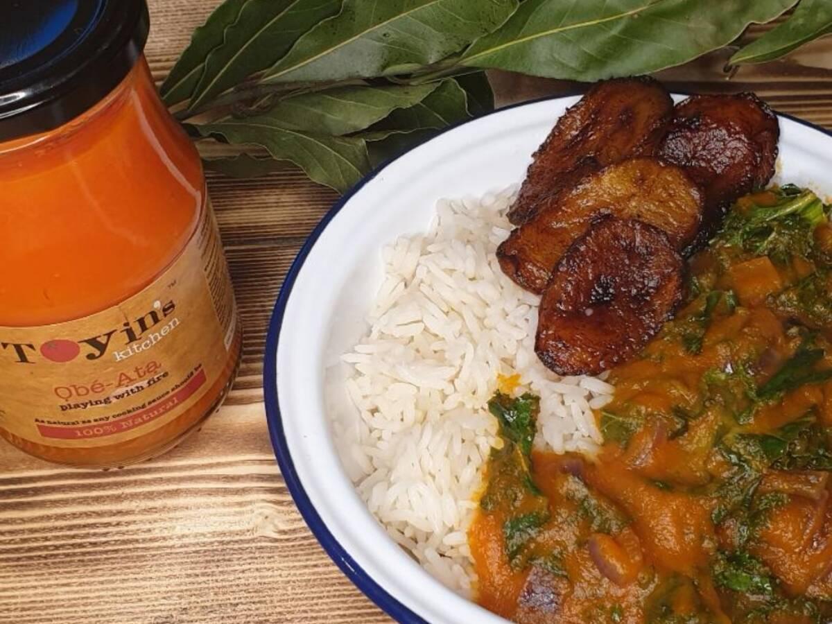 Nigerian Kale Stew (Vegan)