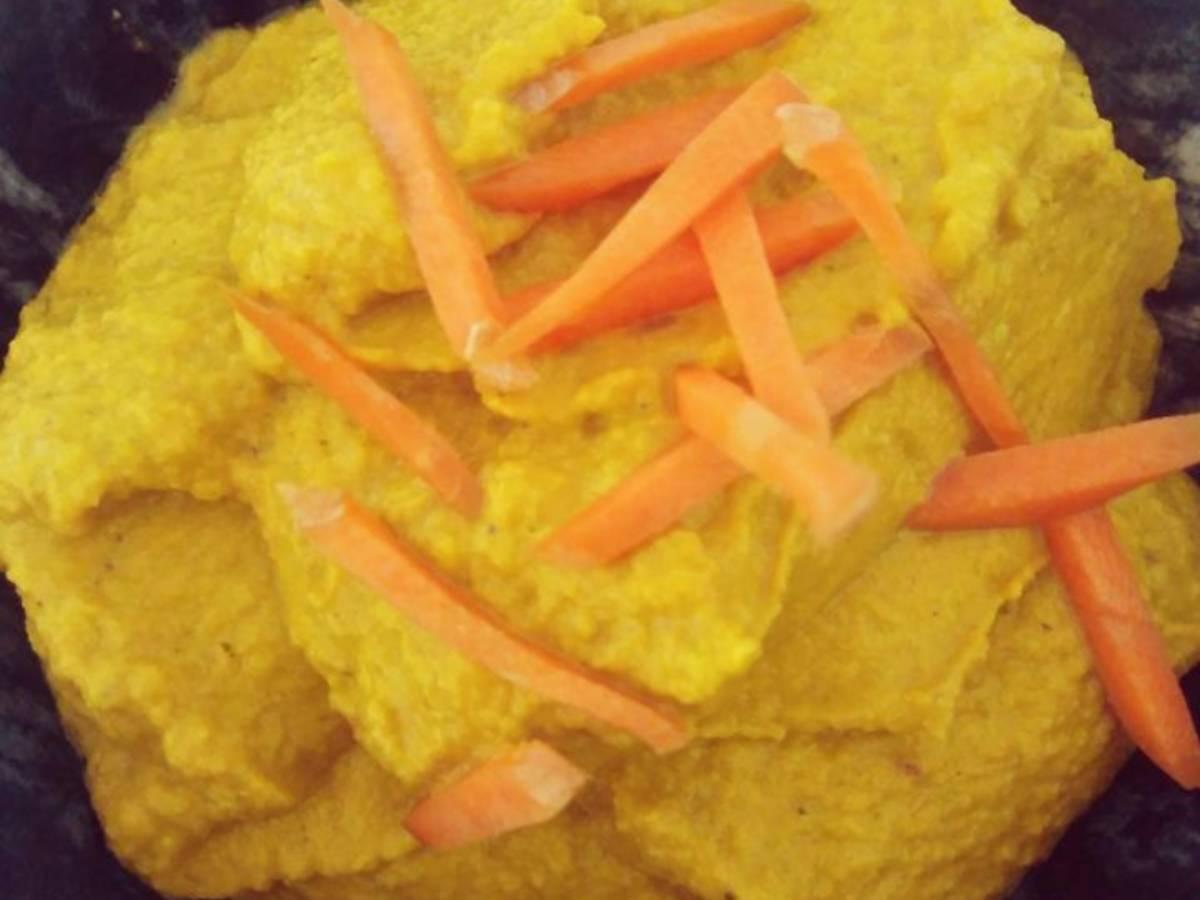 Karottenhummus
