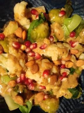 winterliches Sesam-Gemüse
