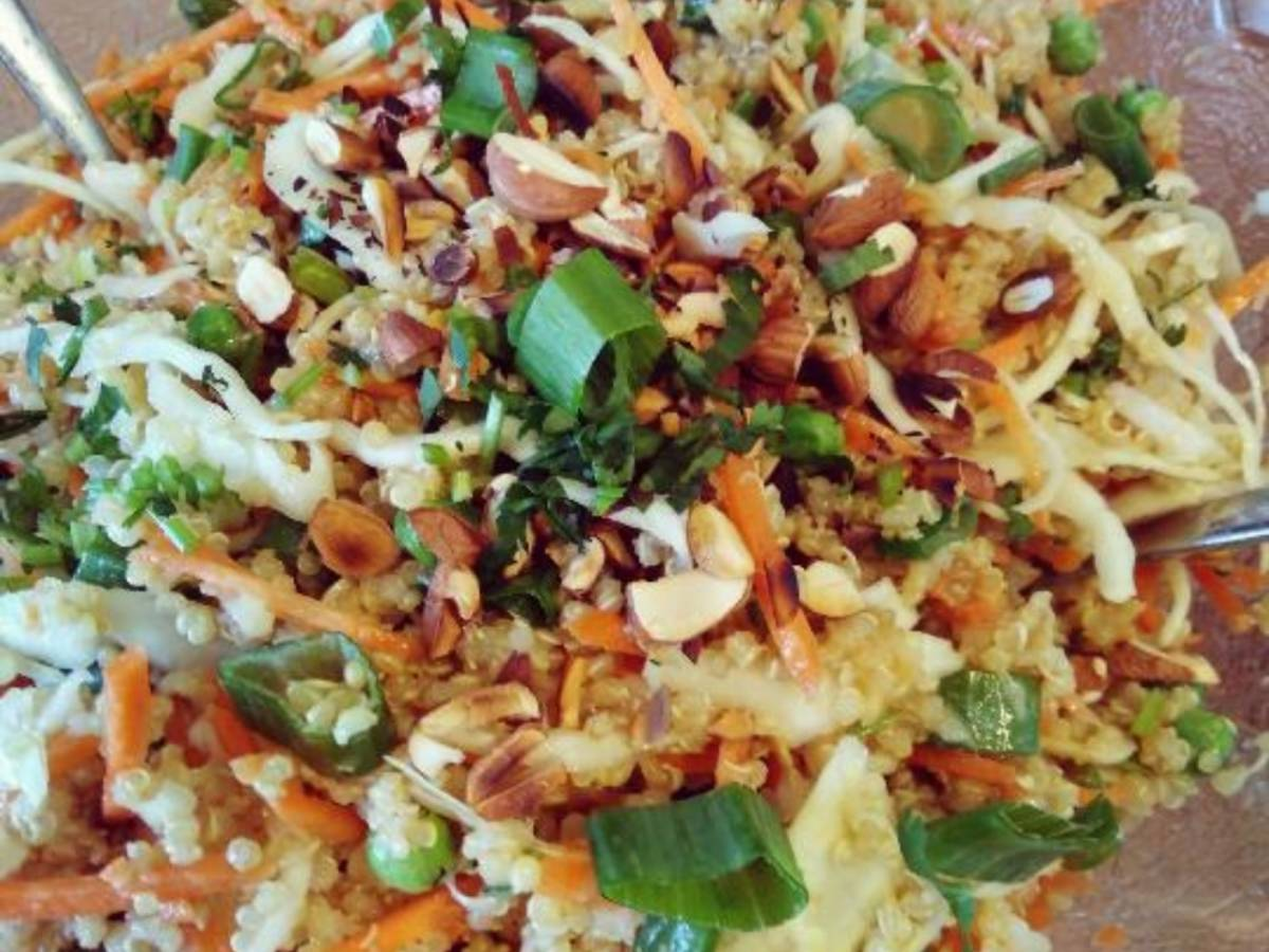 Quinoa | Kohl | Sesam