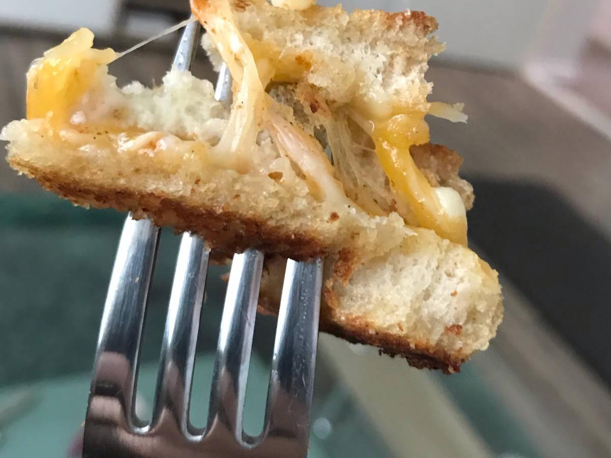 Käse-Ei-Toast