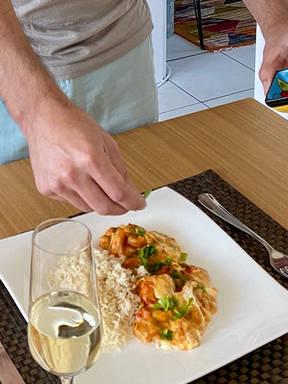 Shrimp with Catupiry