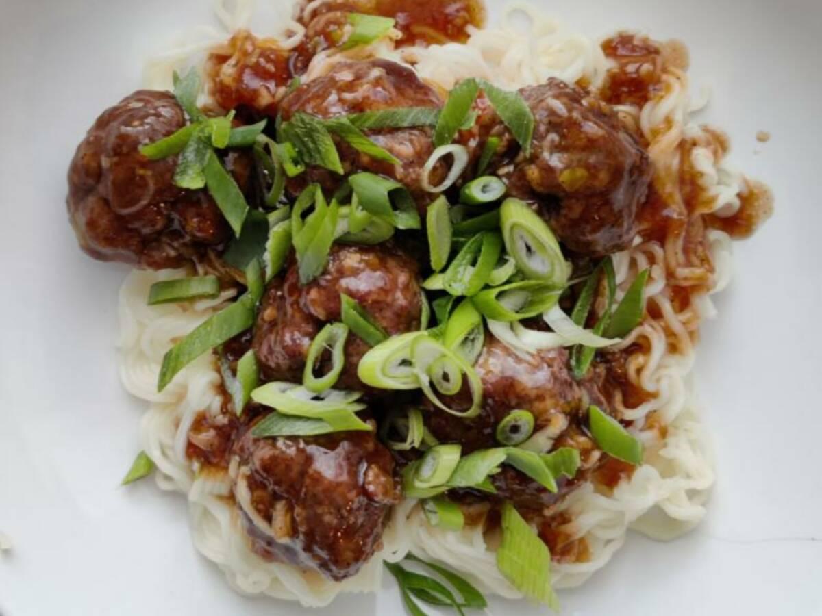Mongolian Meatballs