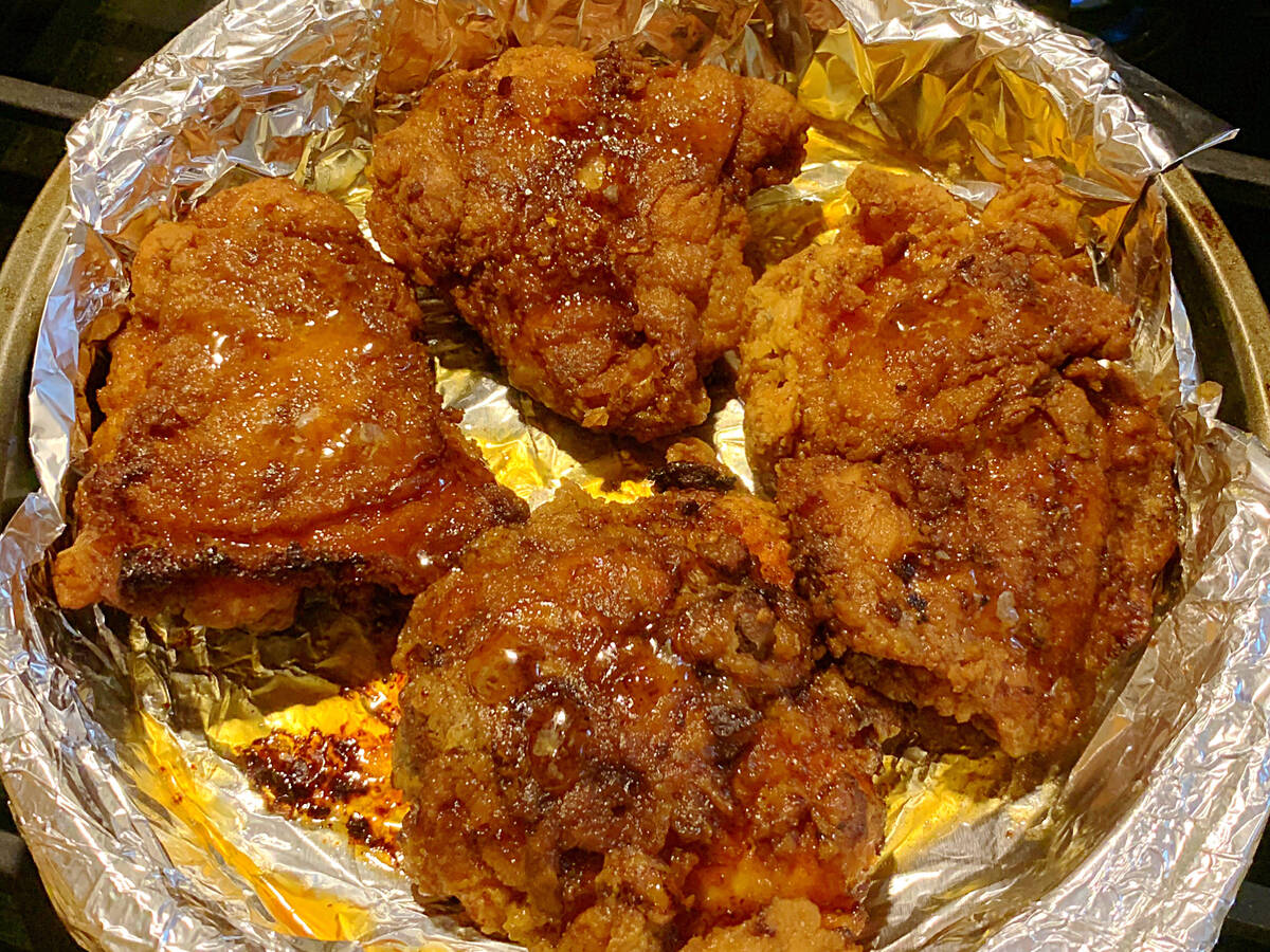 Honey Broiled Chicken