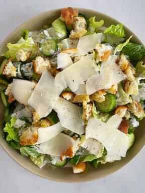 Vegetarischer Ceasar Salad