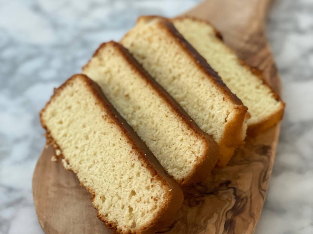 Japanese Honey Sponge Cake