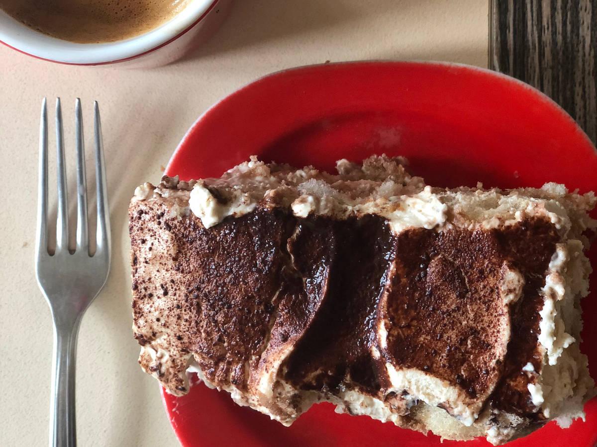 No-bake 'Dalgona' coffee tiramisu