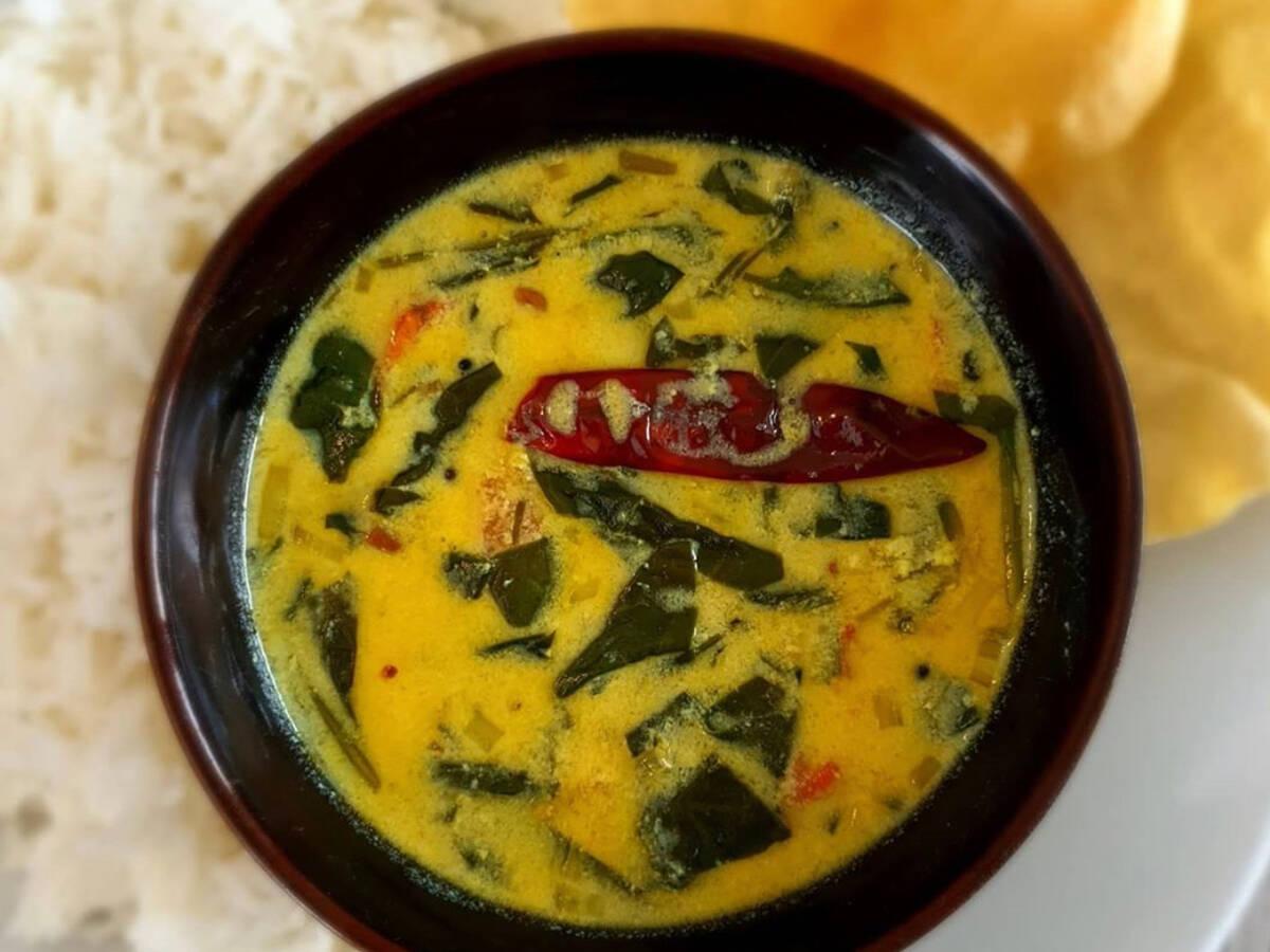 Spinat Moru Curry
