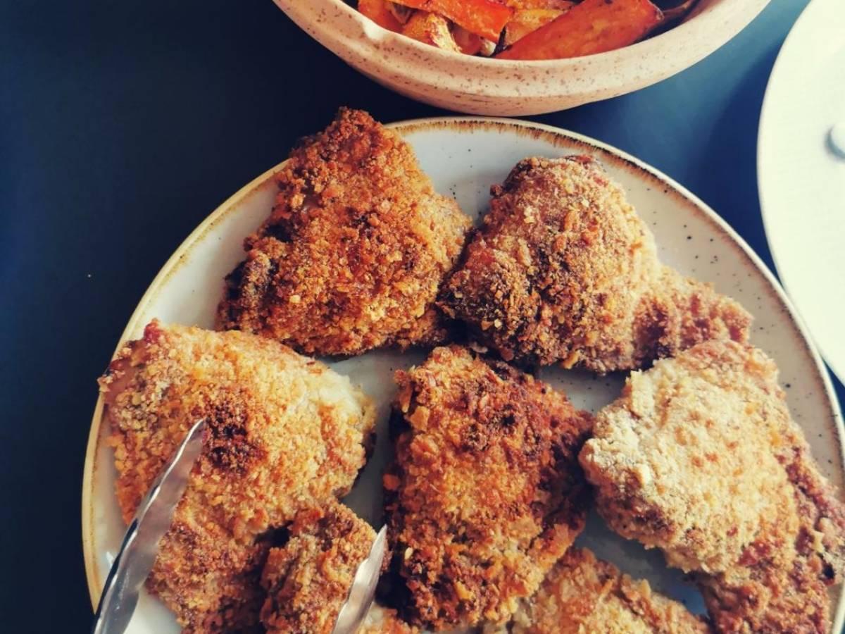 Sumac Crumbed Chicken