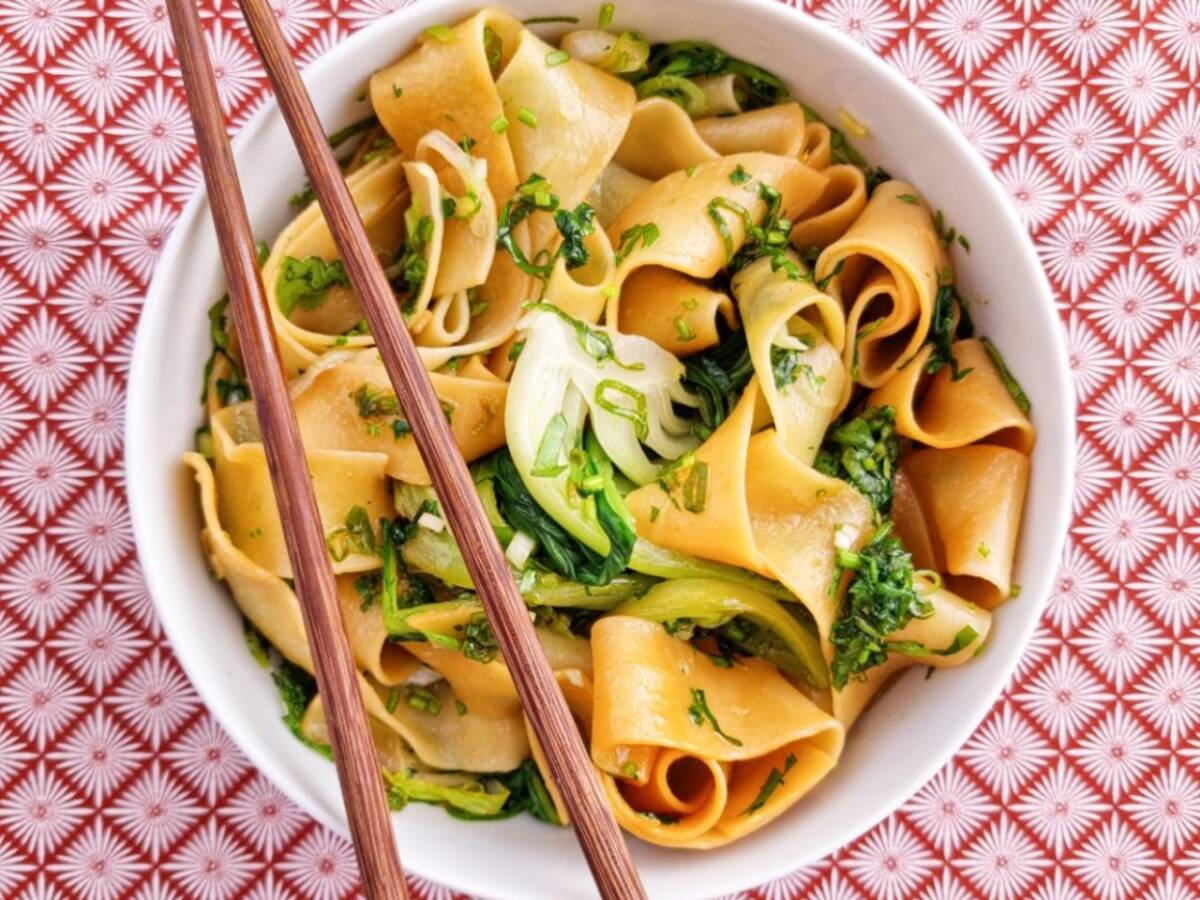 Yo Po Mian (Hot Oil Noodles)