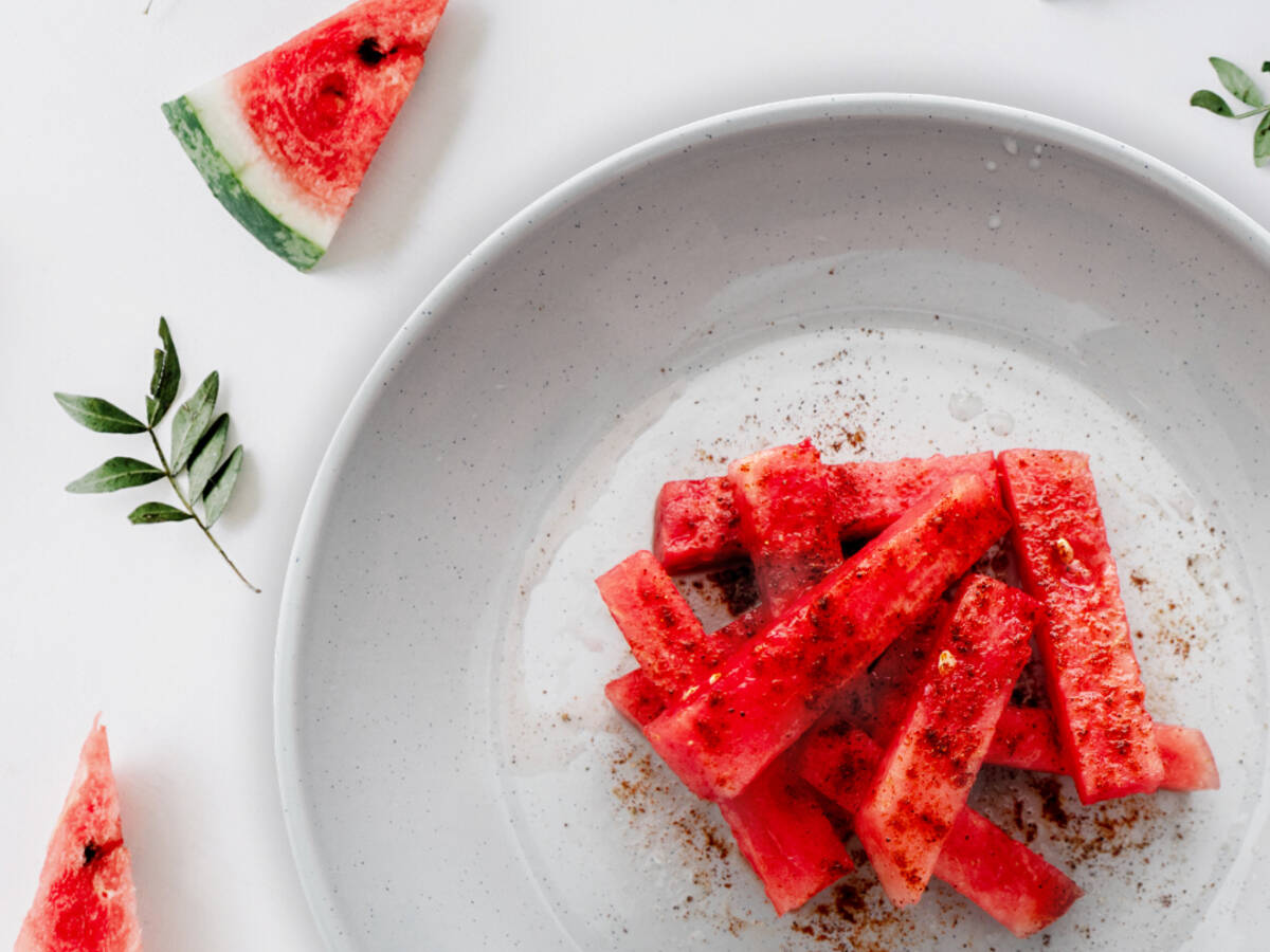 Zesty Watermelon Fries