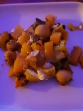 Steckrüben-Pilz Variation aus dem Ofen