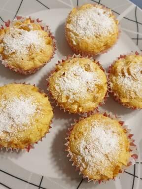 Glutenfreie Apfelmuffins
