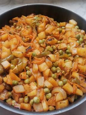 The veggie potato