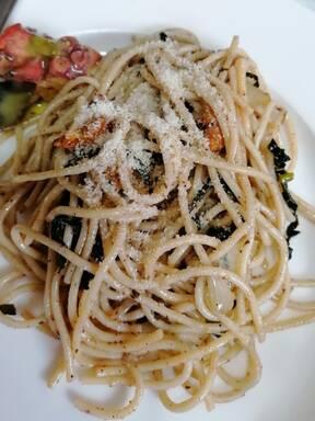 Garlic Kale Linguine